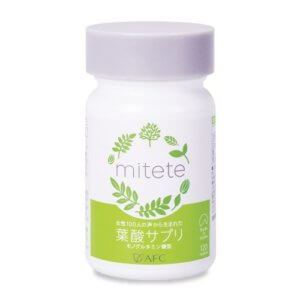 mitete 葉酸サプリ